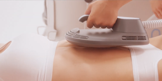 Aparat stimulare musculara electromagnetica EMS Pro Sculpt cu 4 capete (2)
